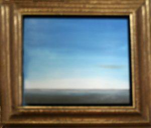 Pacific blue oil paint