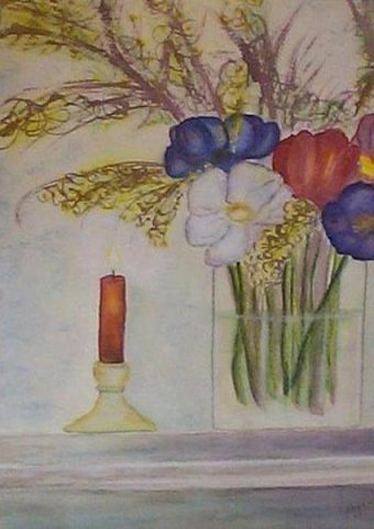 Bouquet_and_Candle